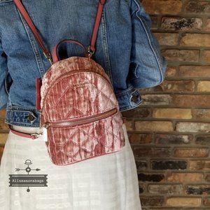 NATALIA Crushed Velvet Mini Backpack Kate Spade